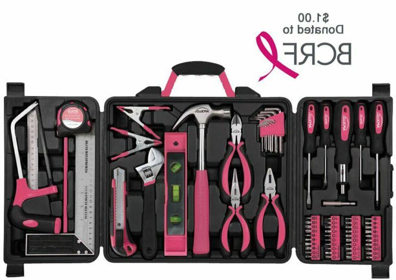 Apollo Tools 71 Piece Tool Kit with Reached for Hand Tool