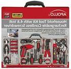 Apollo Tools DT0738 161 Piece Complete Household Tool Kit wi