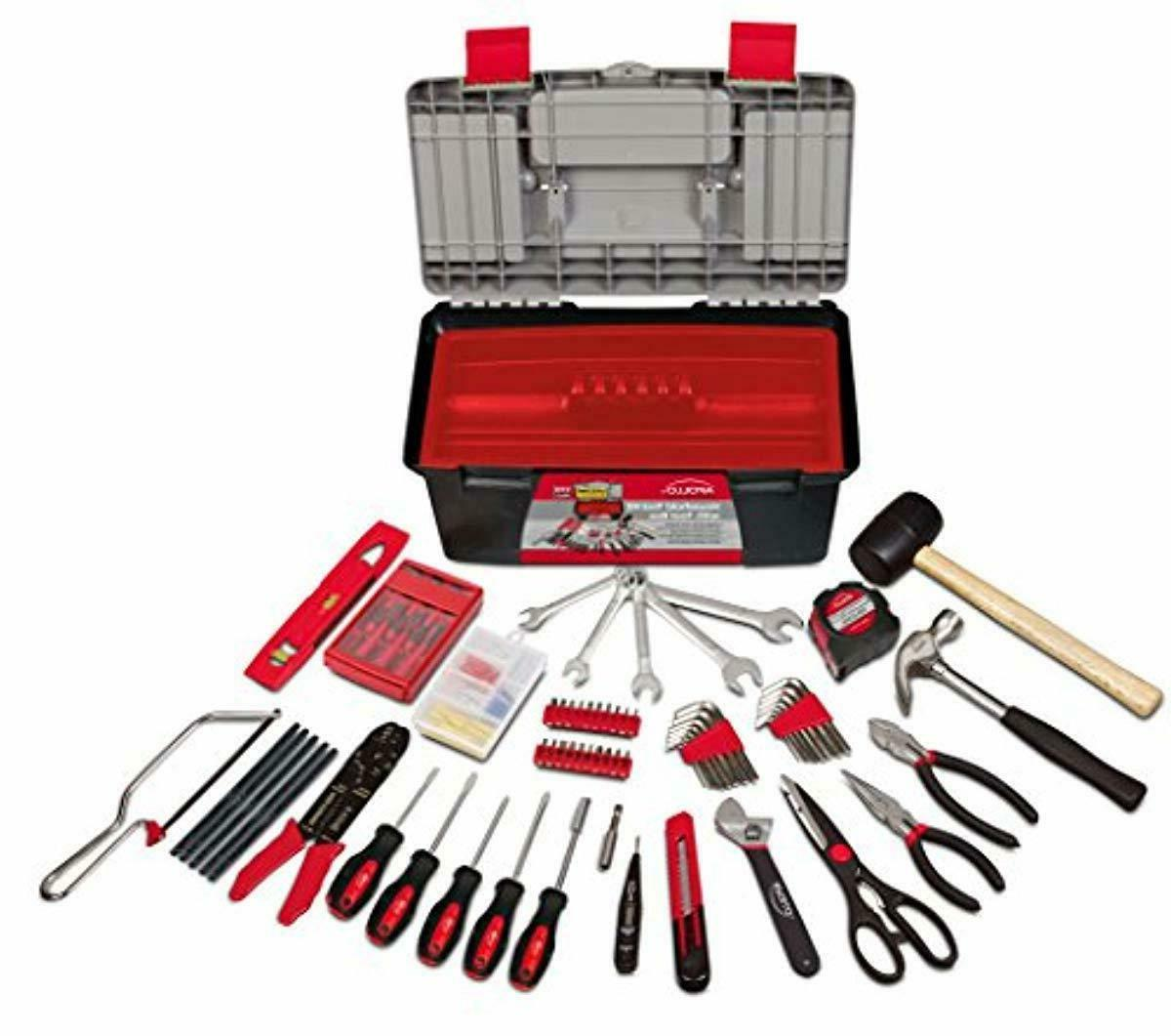dt7102 170 piece complete household tool kit