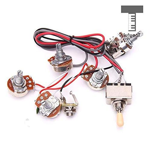 electric guitar wiring harness kit