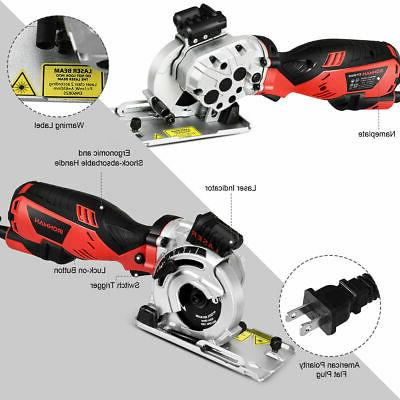 Electric Saw Hand Cutting Tool w/ 3 Blades