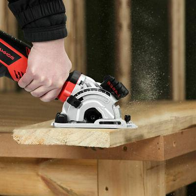 Electric Mini Laser Circular Saw Hand Grinder 3 Blades