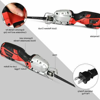 Electric Reciprocating Handheld Cutting Kit w/