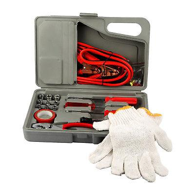 31 Pieces Car Tool Drivers Cables Gloves Socket