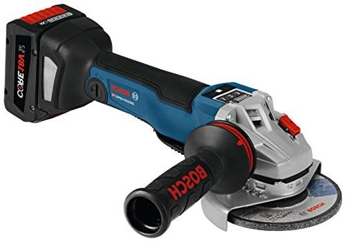 Bosch GWS18V-45PSCB14 Brushless Connected Angle Kit No Paddle