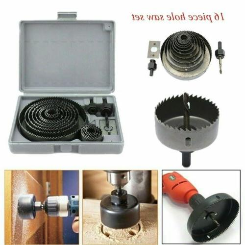 hole saw tooth kit hss steel drill