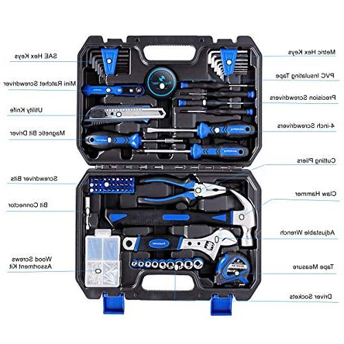 Prostormer Tool Set - Tool Box Storage for House, and Apartment