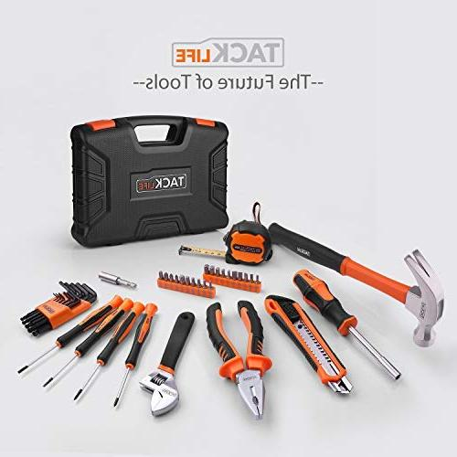 Household 42PCS Home Repair Hand Tool Set with Box Storage Case-HHK1A