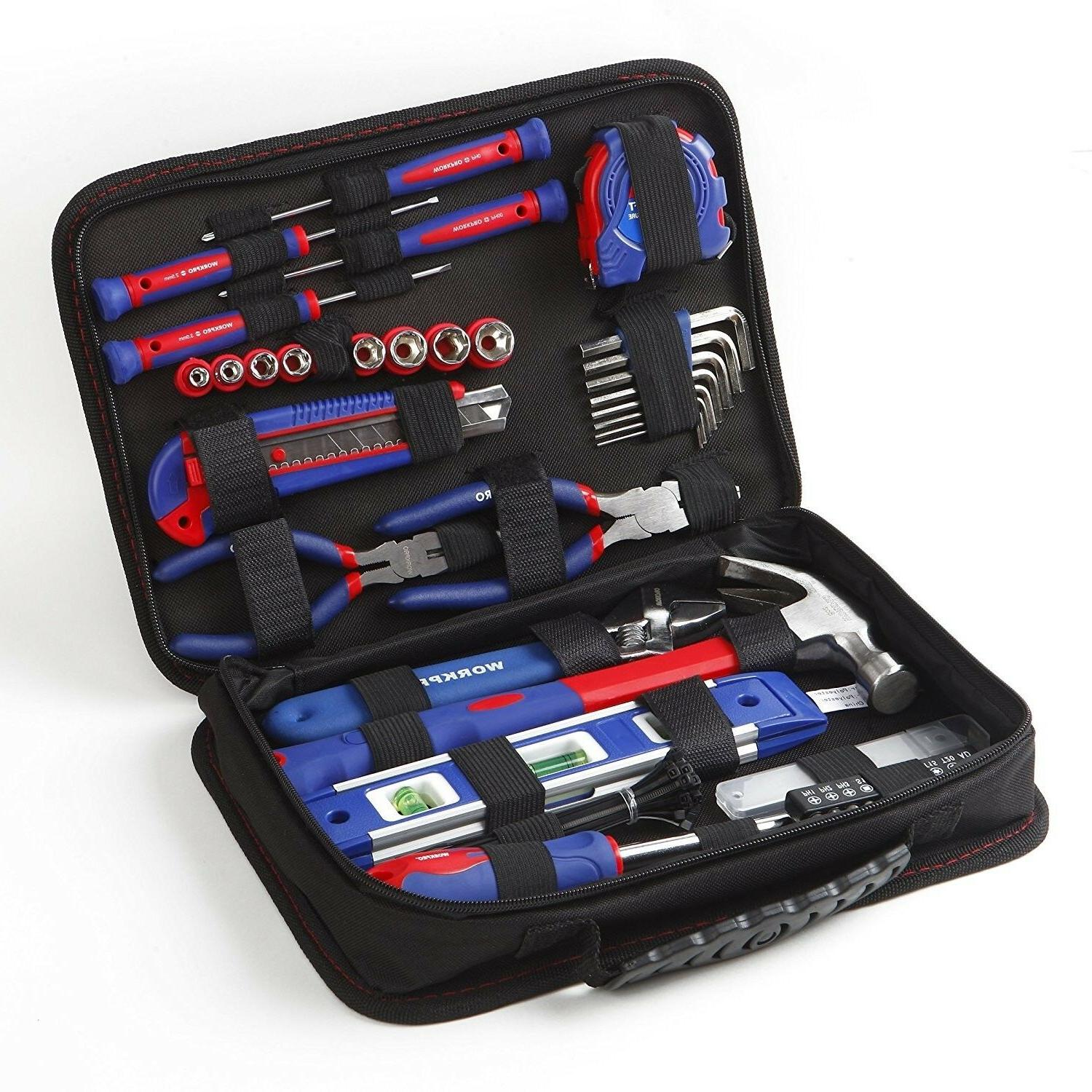WORKPRO Kit 100-Piece Carrying Po fits