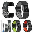 Large Silicone Replacement Watch Band Strap +Tool Kit for Fi