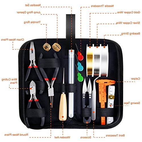 Paxcoo Kit Jewelry Wires and Findings Jewelry and
