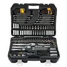 DeWalt 200 Piece Mechanics Tool Set Sockets Wrenches Screwdr