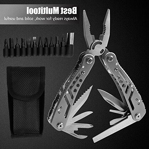 Multitool Tool Heavy Duty Multi-purpose for Hiking with Bracelet &
