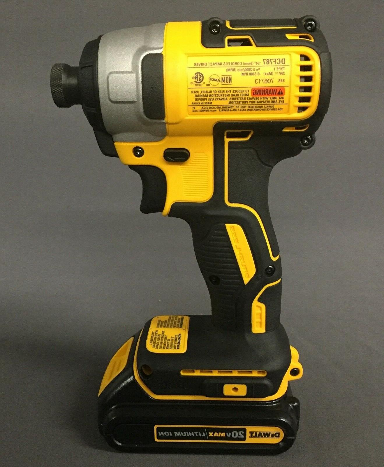 New MAX Brushless Drill/Driver Impact Combo Kit