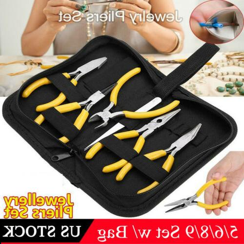 New Tooth Round Nose Pliers Kit For Jewelry Tools