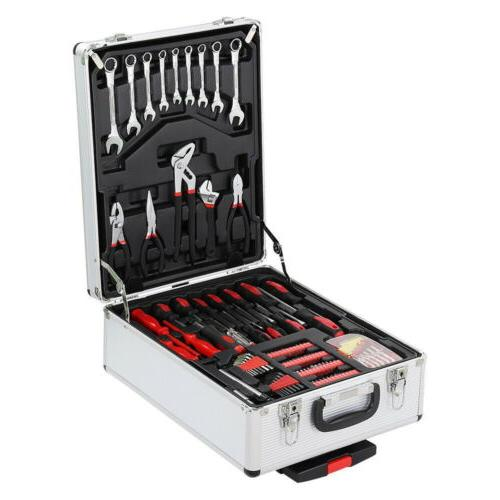 New Kit Mechanics Ratchet Wrench Trolley Toolbox