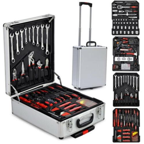 New 799pcs Kit Mechanics Kit Ratchet Toolbox