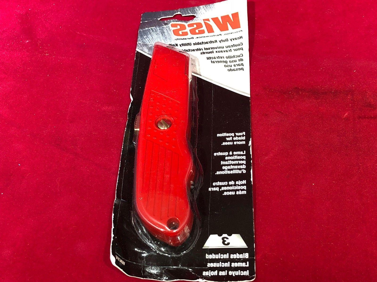 new wk5v heavy duty retractable utility knife