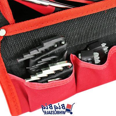 Olympia 56 Tools Set Work Bit Kit Red&Black Bag