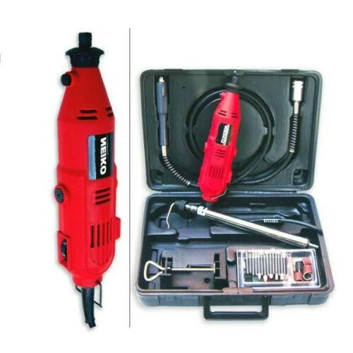 Neiko 40-Piece Portable 1 Amp 6-speed Rotary Grinder Tool wi