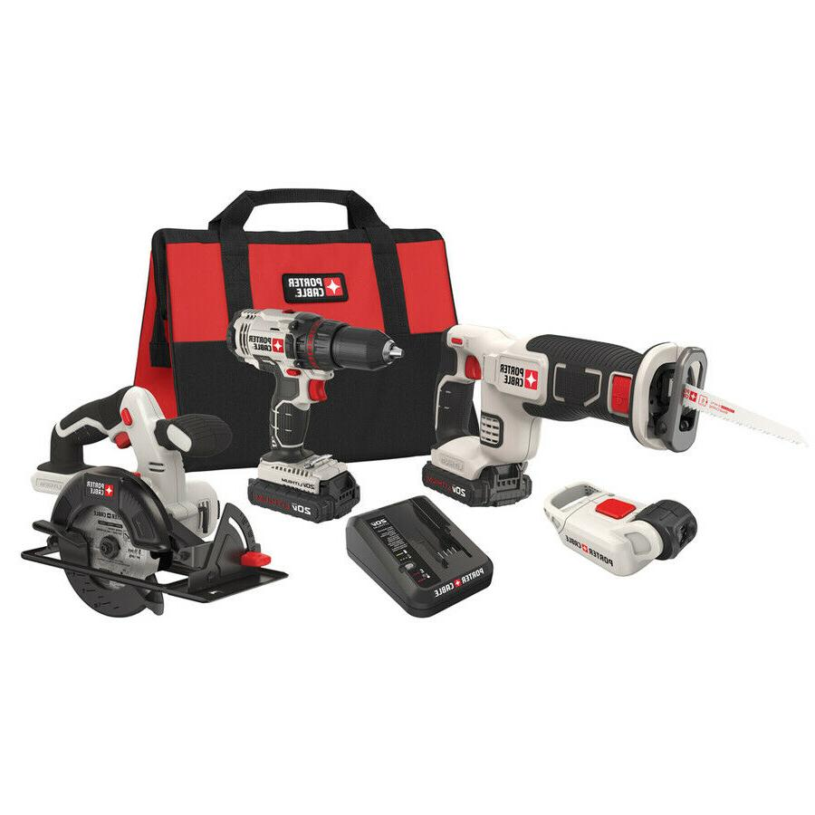 PORTER Max Lithium Ion Cordless Combo Saw Drill Blades