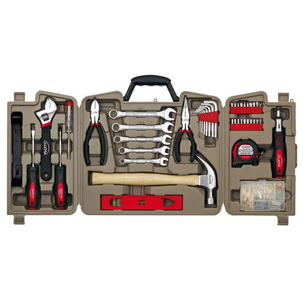 precision 144 piece household tool kit dt8422