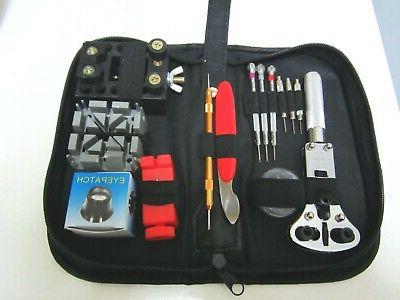 Quanlity Set of  Watch Tool Kit - 12 Items including, + a ha