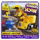 Kinetic Rock Rock Crusher Toy Kit with Construction Tools, f
