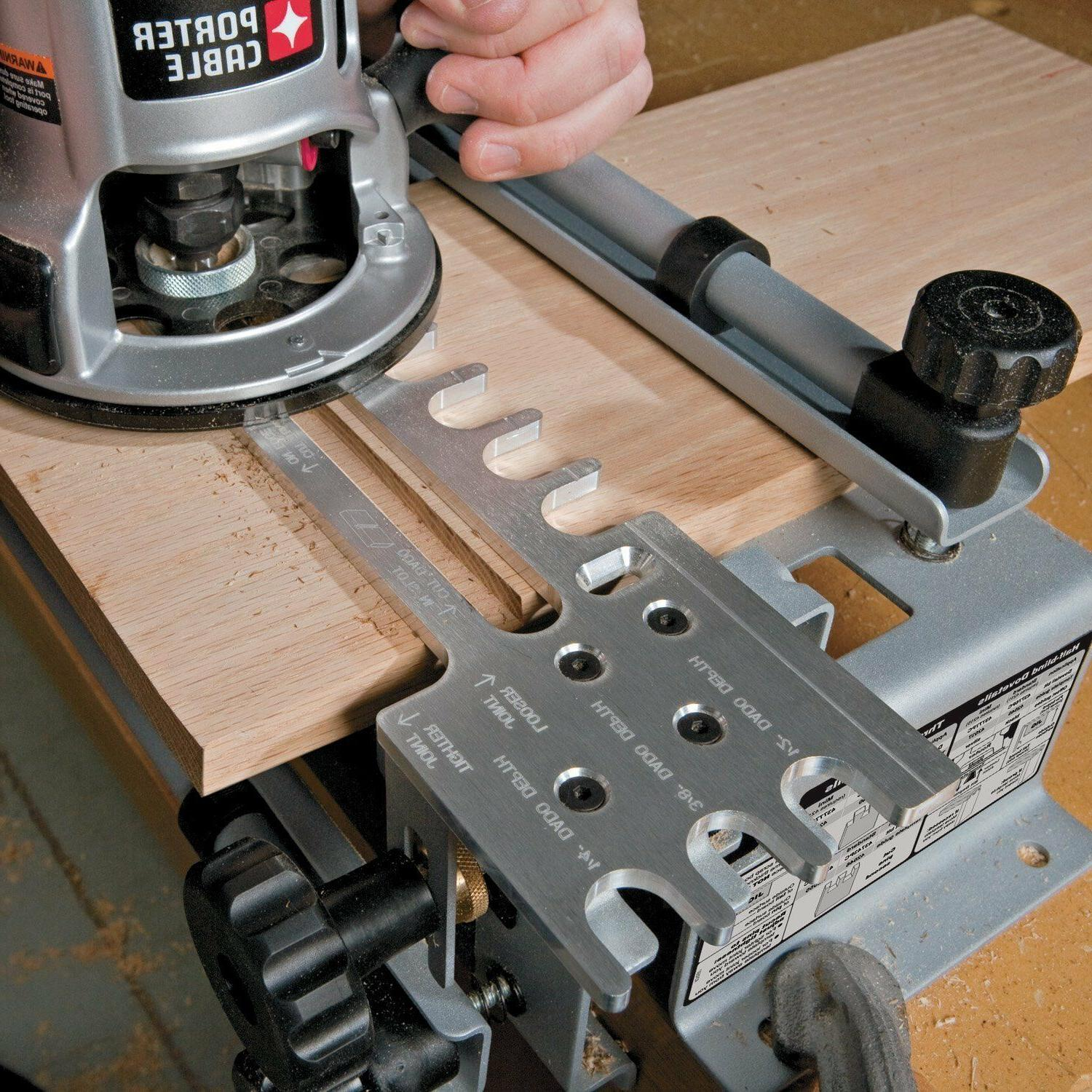 Router Template Table Dovetail Jig Wood Working Power