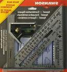 Swanson Tool S0101CB Speed Square Layout Tool with Blue Book