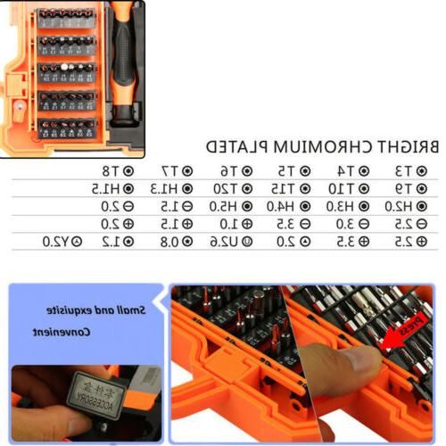 Screwdriver Repair Kit Opening Tools For Computer JM-8139 45 in 1