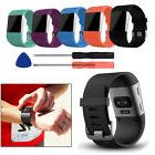 Soft Silicone Replacement Watch Band Strap + Tool Kit for Fi
