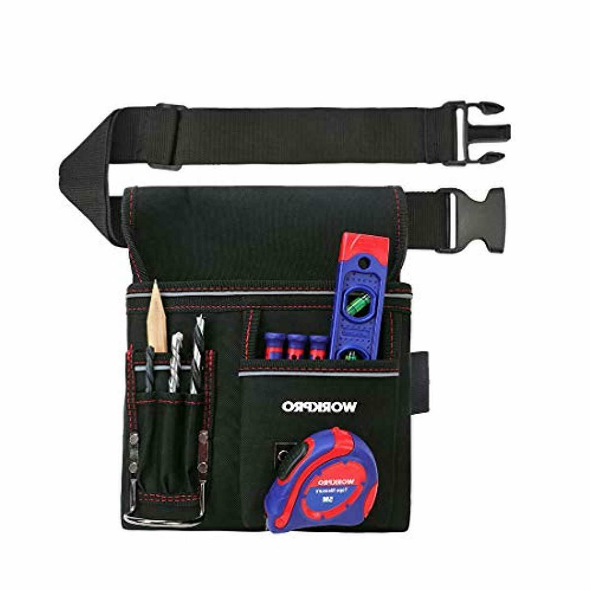 WORKPRO Tool Pouch Woodworking Included
