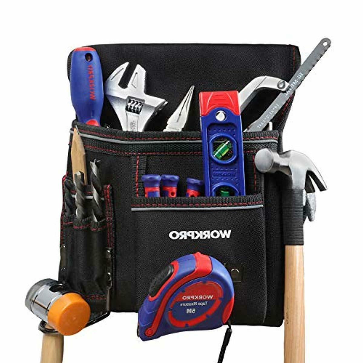 WORKPRO Pouch for Woodworking with Belt Included