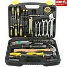 TOP DOWELL 60 PCS Socket Wrench Auto Repair Tool Set,Home Re