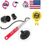 US MTB Bike Bicycle Sprocket Lock Remover Tool Cassette Free