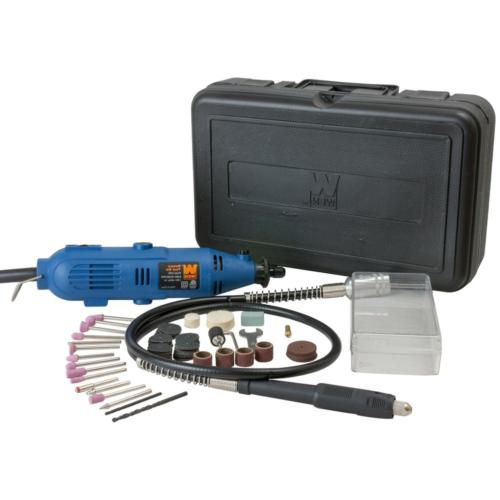 variable speed tool kit 80 piece accessories