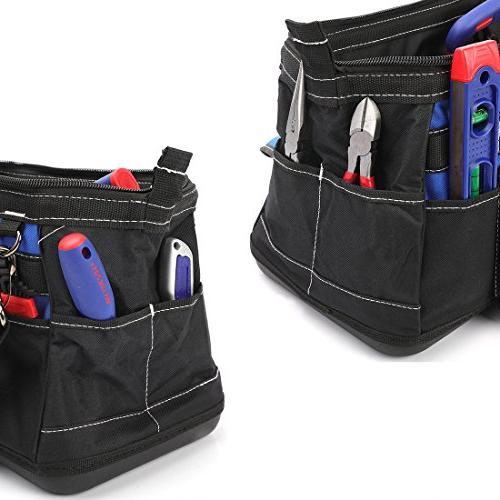 WORKPRO 16-inch Tool Bag Water Proof Molded Base