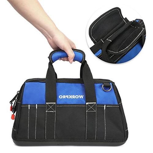 WORKPRO Tool Bag with Water Proof