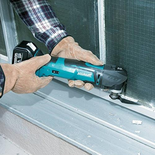 Makita XMT03Z 18V Lithium-Ion Cordless Multi-Tool, Only