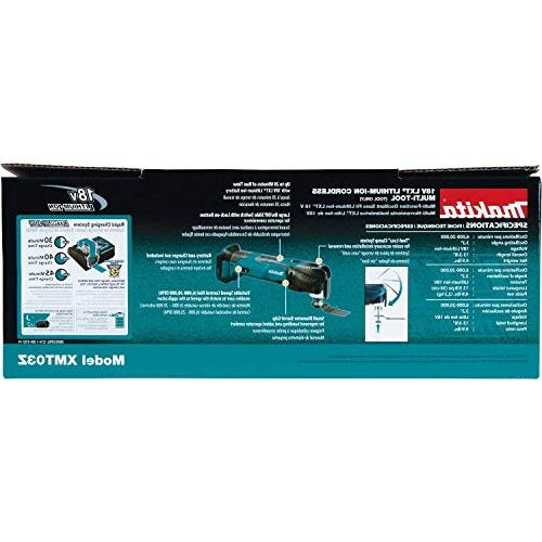 Makita Lithium-Ion Cordless Multi-Tool, Tool Only