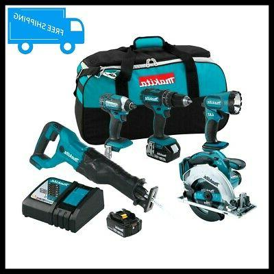 tool combo kit 18 volt lithium ion