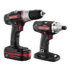 Craftsman Lithium-ion 2 Piece Drill / Impact Combo Kit