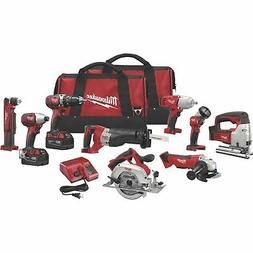 Milwaukee 2696-29 M18 Combo 9 tool Kit