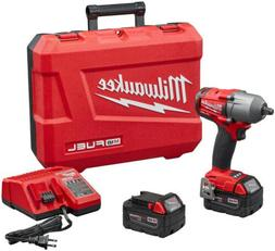 "Milwaukee 2861-22 M18 FUEL 1/2"" Impact Wrench w/ Friction Ri"