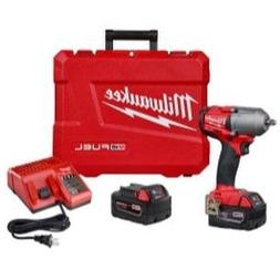 "Milwaukee  M18 FUEL 3/8"" Mid-Torque Impact Wrench 5.0 Kit"