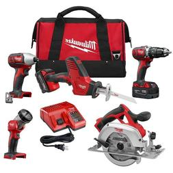 Milwaukee M18 18-Volt Lithium-Ion Cordless Combo Tool Kit  w