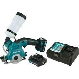 MAX CXT Lithium Ion Cordless Tile Glass Saw Kit Powerful Cut