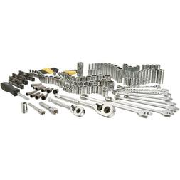 Stanley Mechanics Tool Box Set Kit 145 Piece Wrench Drive So
