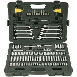 Mechanics Tool Set Wrench Sockets Kit Ratchet Ratcheting Uni